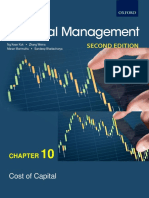 Chapter 10 PFD2123 Cost of Capital