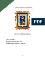 Ciencias Farmacéuticas y Bioquimica