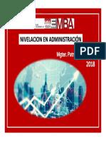 2018- Administracion 1 Alumnos