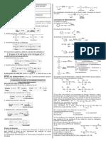 Resumão Reações Orgânicas - 4º Período
