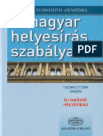 b3a3a17ec2 A Magyar Helyesiras Szabalyai 12.Kiadas