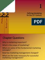 1 Marketing Concept, Marketing STrategies Scanning Environment
