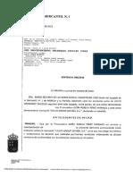Sentencia del juzgado de lo Mercantil nº 1 de Murcia