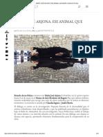 María José Arjona. Ese Animal Que Migra _ Artishock Revista