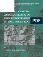 [Elsevier geo-engineering book series 1] Weishen. Zhu, Jian Zhao and John A. Hudson (Eds.) - Stability Analysis and Modelling of Underground Excavations in Fractured Rocks (2004, Elsevier).pdf