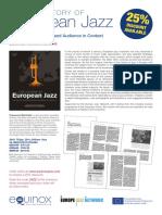 european jazz history