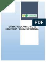 Hm-prod-pl-001 Plan de Trabajo Escrito de Excavacion-calicata