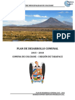 Pladeco Colchane 2015-2018