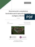 ORTIZ - Bioconstrucción y Arquitectura Bioclimática Para La Ejecución de Vivienda Ecológica Unifa...