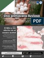 Boletín Tendencias Climáticas Dic 2018 - Feb 2019
