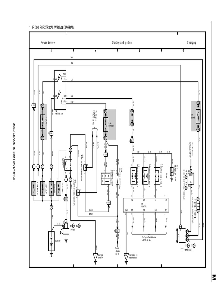 1 Is 300 Electrical Wiring Diagram: Power Source Starting ... B B Er Wiring Diagrams on