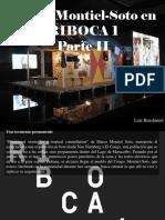 Luis Benshimol - Marco Montiel-Soto en RIBOCA 1, Parte II