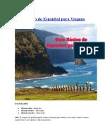 Vai Pro Chile Guia de Espanhol para viagem