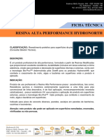 Resina Alta Performance