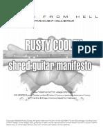 Shred Guitar Manifesto