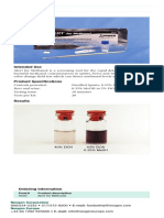 Metanol - Alert Test Brochure