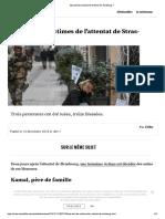 Qui Sont Les Victimes de l'Attentat de Strasbourg