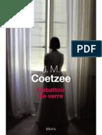 L'Abattoir de Verre (Seuil, 16 - Coetzee, J.M