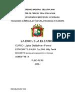 Escuela Eleática