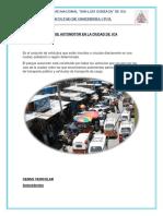 Parque Automotor de Ica Aumentado