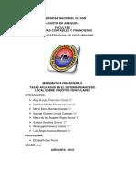 Proyecto Matematica Financiera II