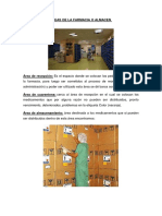 Áreas de Una Empresa Farmacéutica