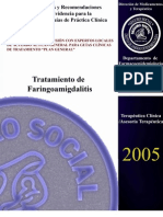 17 Tratamiento de La Faringoamigdalitis