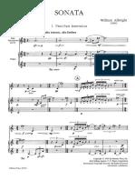 Albright Sax sonata