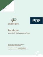 Creative Brew's ePaper 'facebook, essentials for business'
