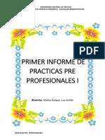 Informe de Practicas Jenifer