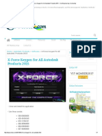 X-Force Keygen for All Autodesk Products 2015 - Civil Engineering Community