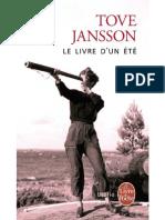 Le Livre d'Un Ete - Jansson Tove