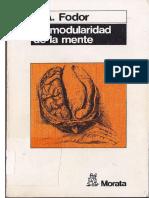 Fodor J A - La Modularidad De La Mente.pdf