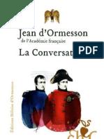 La Conversation - Ormesson, Jean (d')