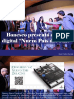 """Juan Carlos Escotet - Banesco Presentó El Libro Digital """"Nuevo País Del Cine"""""""