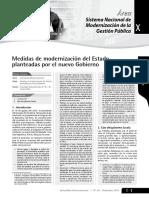 Modernizacion y Reforma Del Estado