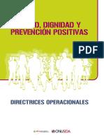 Salud, Dignidad y Prevención Positivas - Onusida - 2013
