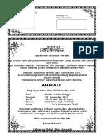 Cara membuat undangan tahlil.doc