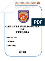 Carpera de Tutoria 2016 Completo