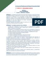 2018 Reglamento de Residencias SIPROSA.