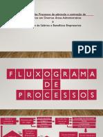 Fluxograma de Processos e Grafico