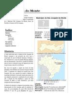 São Joaquim Do Monte – Pernambuco