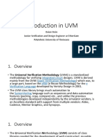 Introduction in UVM
