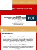 CORESafety Risk Change Management