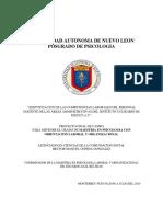tesis psicologia  laboral