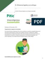 Transportes Pitic Una de Las Mejores Empresas Mexicanas