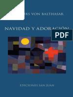 Balthasar H.U. - Navidad y Adoración - VERSIÓN PARA LECTURA (1)