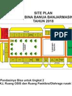Site Plan SMK Bina Banua Banjarmasin Tahun 2018