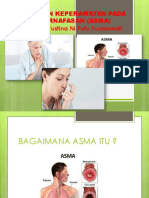 Asuhan Keperawatan Pada Pernafasan (Asma)