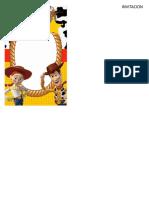Kit Imprimible Toy Story